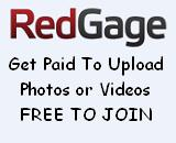 Get Paid For Uploading Pictures Videos Articles and Links with Redgage