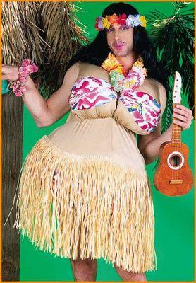 Funny Halloween Costume Hawaiian Girl - halloween pictures halloween ...