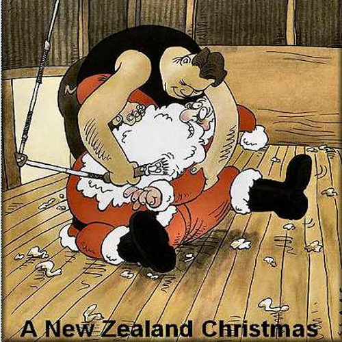 Christmas In New Zealand - Funny Christmas Pictures